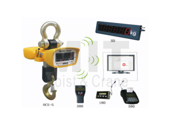 Digital Crane Scale With Wireless Systems